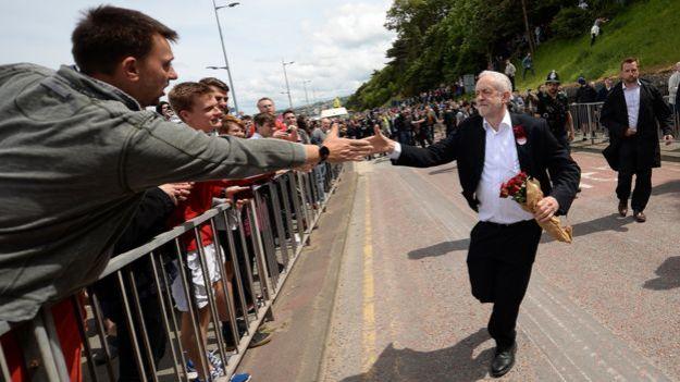 Corbyn Running